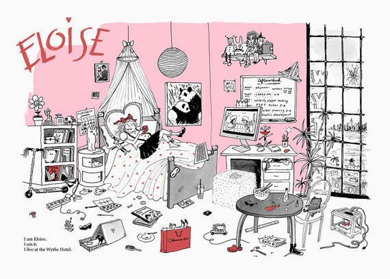 Image of Eloise Moves to Brooklyn offset print
