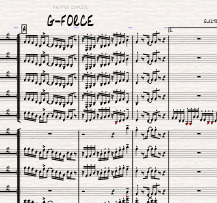 Image of G-FORCE - Big Band version