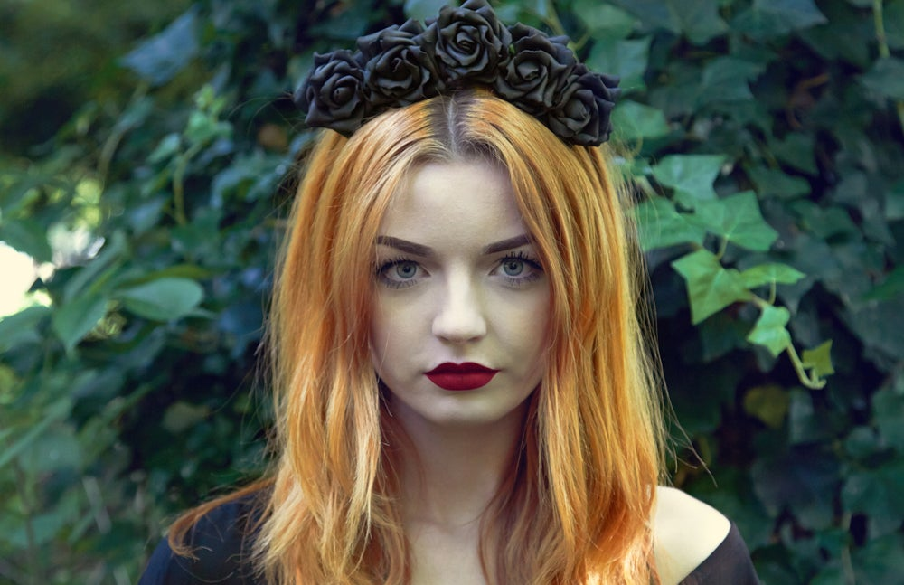 Image of Wild Rose Crown Black