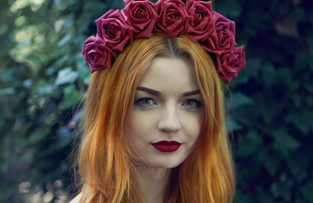 Image of Blooming Rose Crown Raspberry