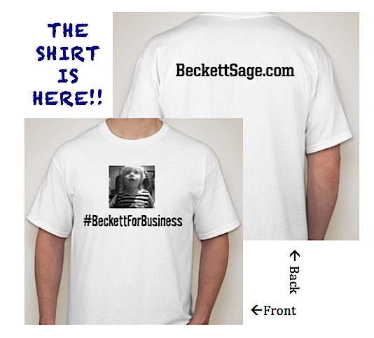 "Image of ""Beckett for Business"" T-Shirt"