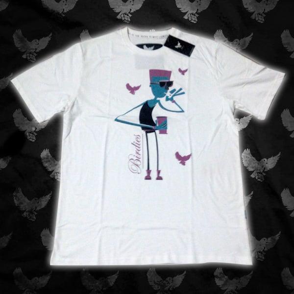 Image of White Fly Guy T Shirt