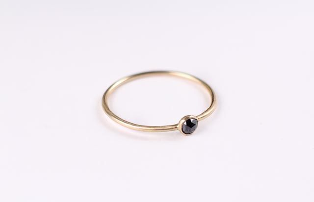 Image of Black Diamond Ring