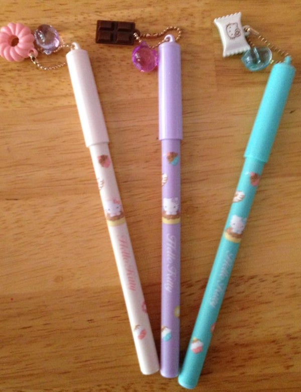 Image of Hello Kitty Sweets Charm Pens