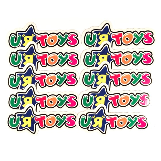 Image of SCOFFLAWS u-r-toys sticker pack