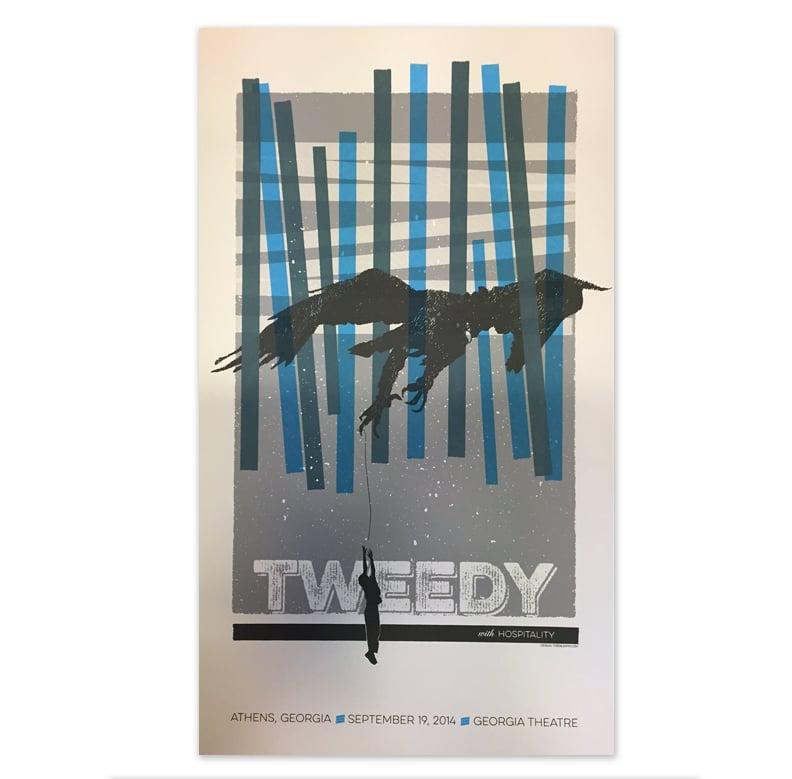 Image of TWEEDY poster, Athens, GA
