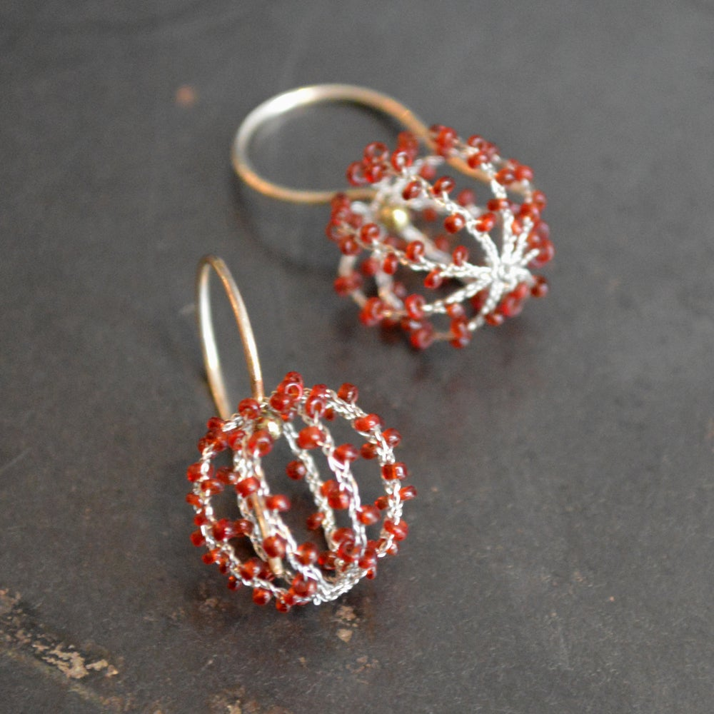 Image of Globe earrings