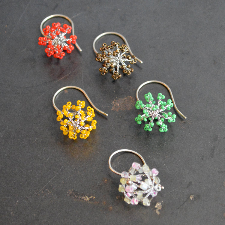 Image of Globe earrings