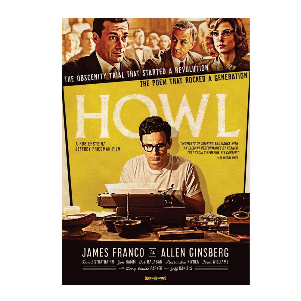 Image of Allen Ginsberg - Howl Blu-Ray