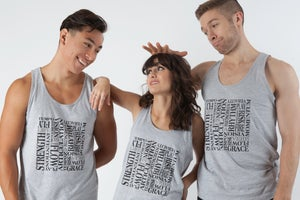 Image of Life Is A Verb Unisex Tank