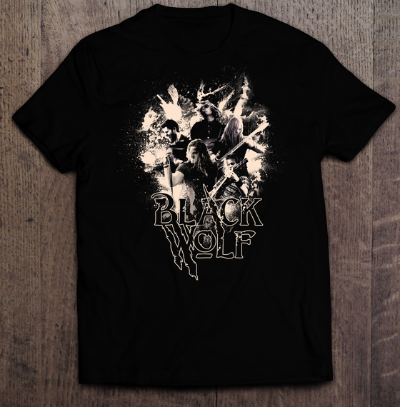 Image of T-Shirt: Faces Of Blackwolf