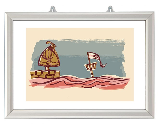 Image of The Sinking of The Mary Rose Ltd Edition Print