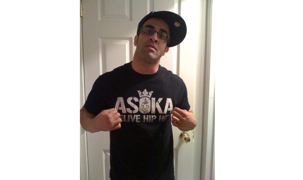 Image of The Asoka - ReliveHipHop Tee (male)