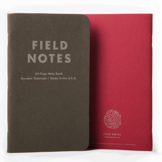 Image of Field Notes - Arts and Sciences