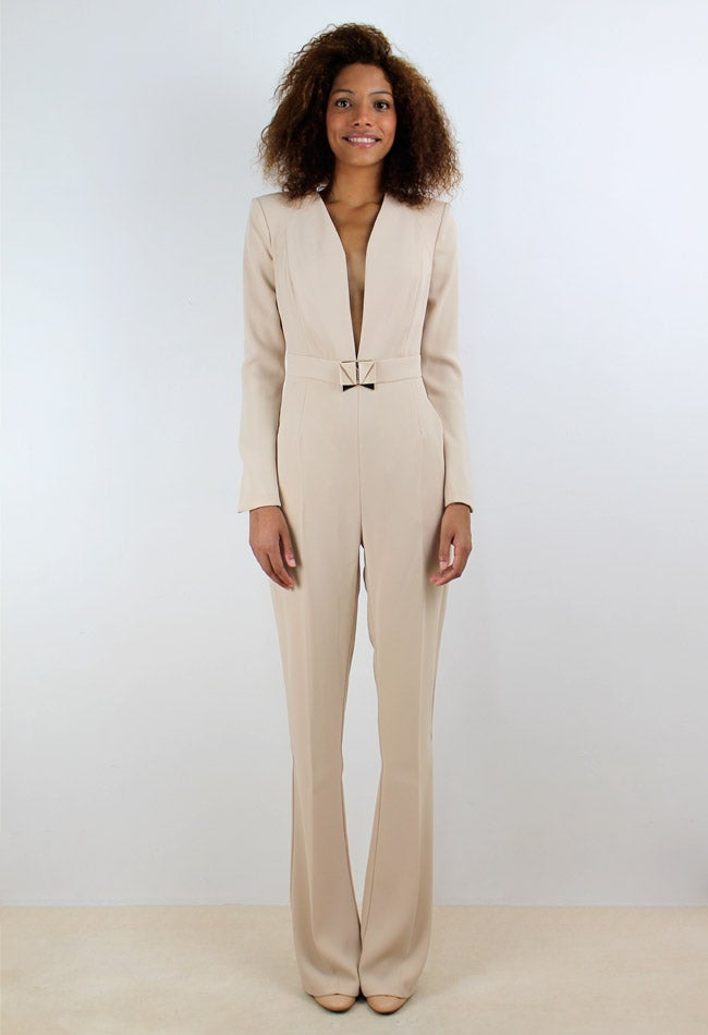 Image of BEIGE JUMPSUIT
