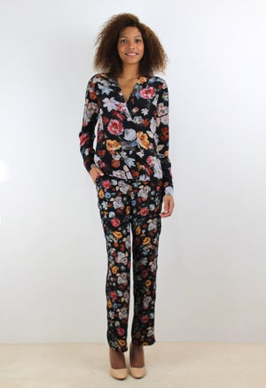 Image of FLOWERS PANTS