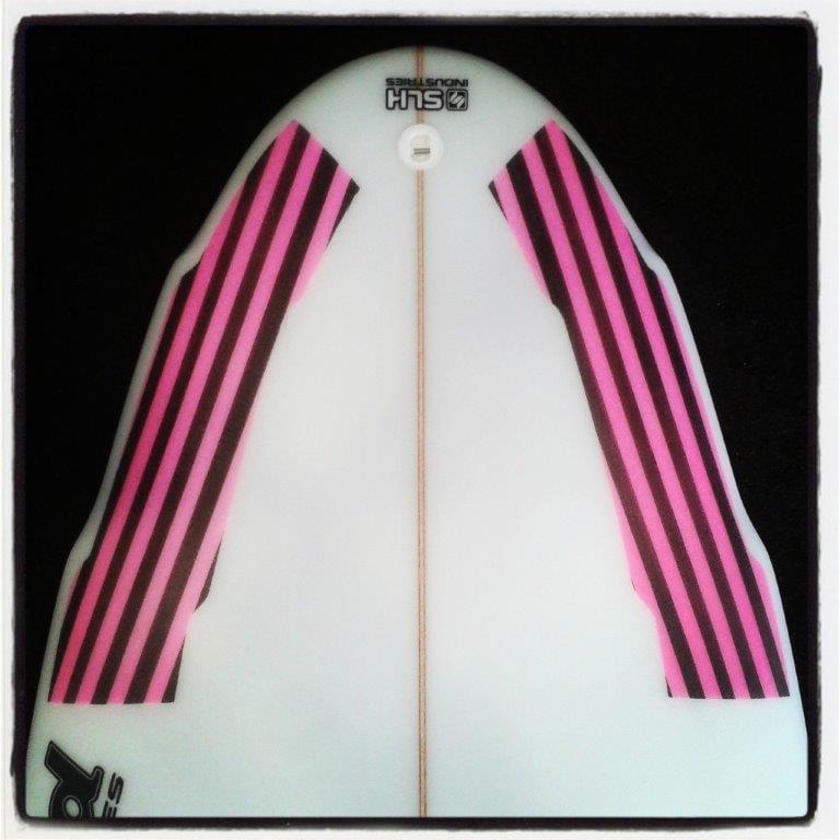Image of TABLA SLASH GO UP  X UP SURF CLUB