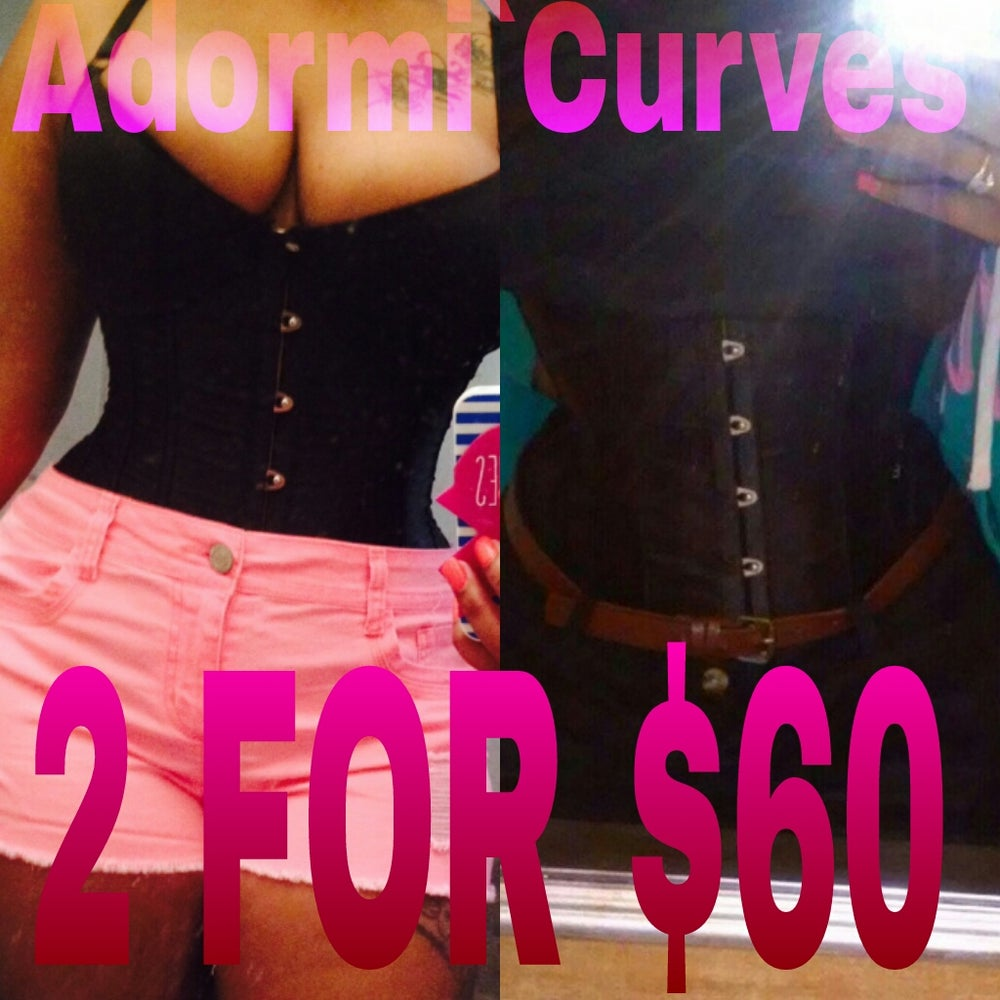 Image of 2 FOR $60.00 MAXIMUM CORSET TRAINER SET