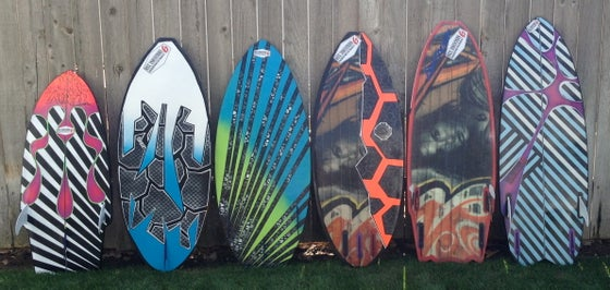 Image of Sixx Custom Wakesurf Shapes (Surf Style)