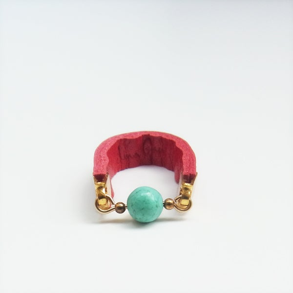 Image of Classic dot rings - Red