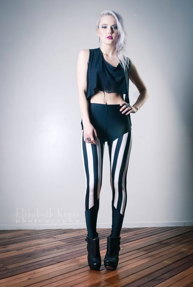Image of Stripe leggings
