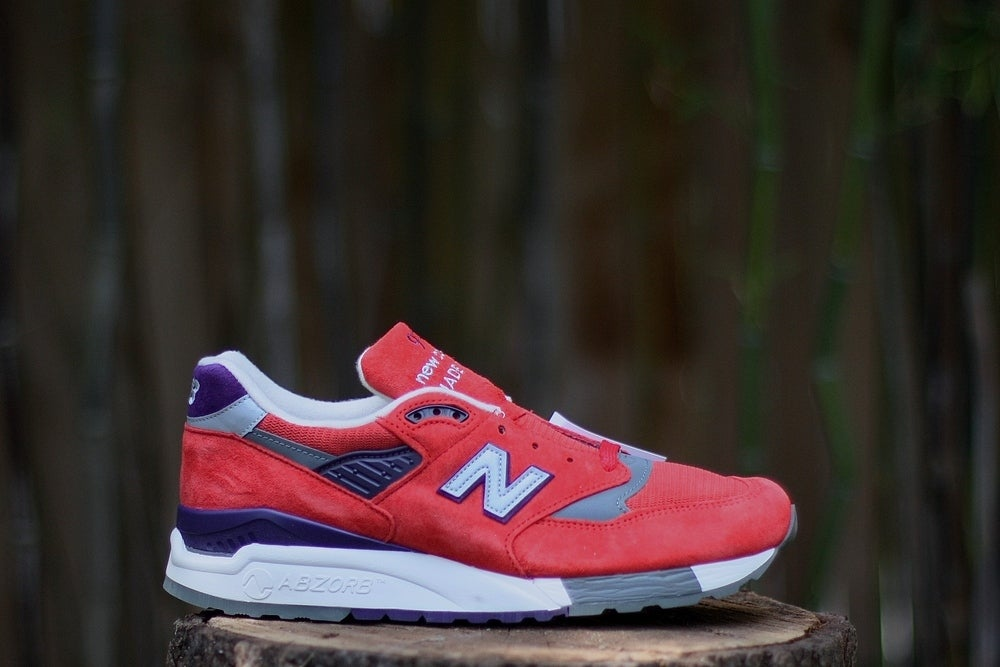 "Image of NEW BALANCE 998 X JCREW ""INFERNO"""