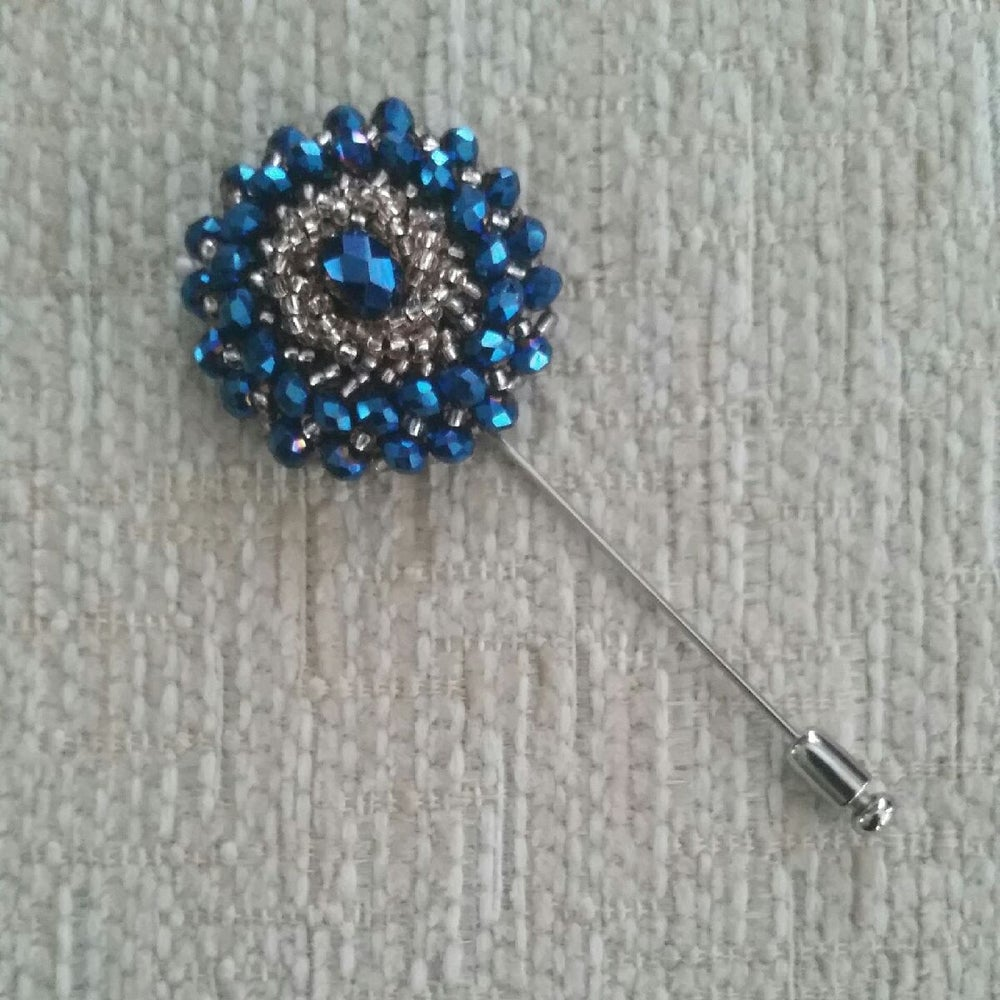 Image of TUMESCENT LAPEL PIN - 1