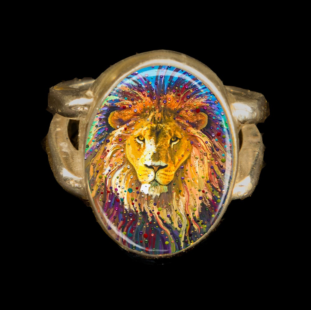 Image of Lion Heart Energy Ring