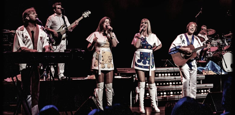 Image of Abba 1974: ex Bjorn Again Sat 20 Dec Spa Hotel Saltburn