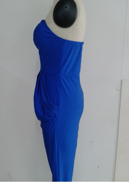 Image of Fashion hot strapless jumpsuit