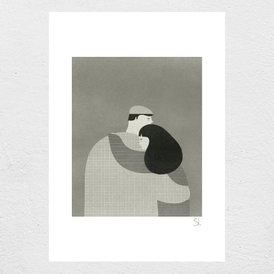 Image of El Abrazo Print