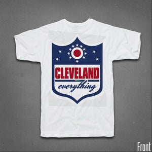 Image of Cleveland Over Everything Shield Tee