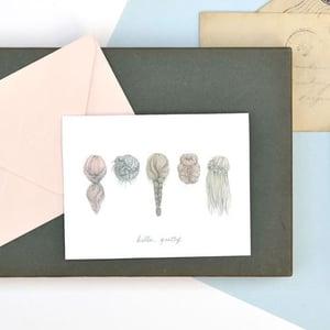 Image of Hello Pretty note card