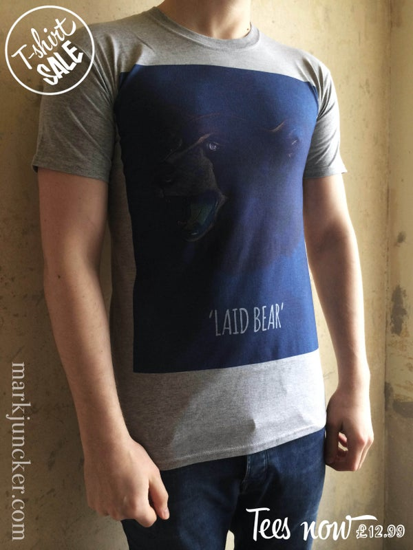 "Image of ""LAID BEAR TEE"""