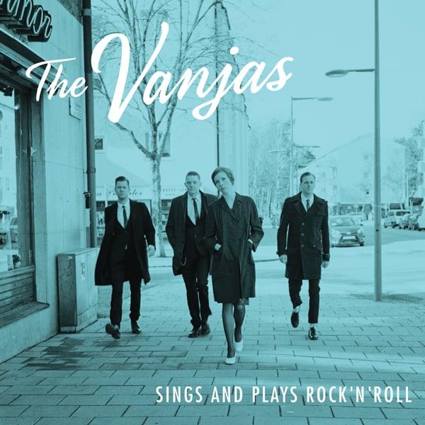 """Image of 12"""" Vinyl - The Vanjas Sings and plays Rock 'n' Roll"""