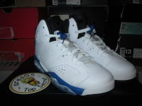 "Air Jordan VI (6) Retro ""Sport Blue"" GS - areaGS - KIDS SIZE ONLY"
