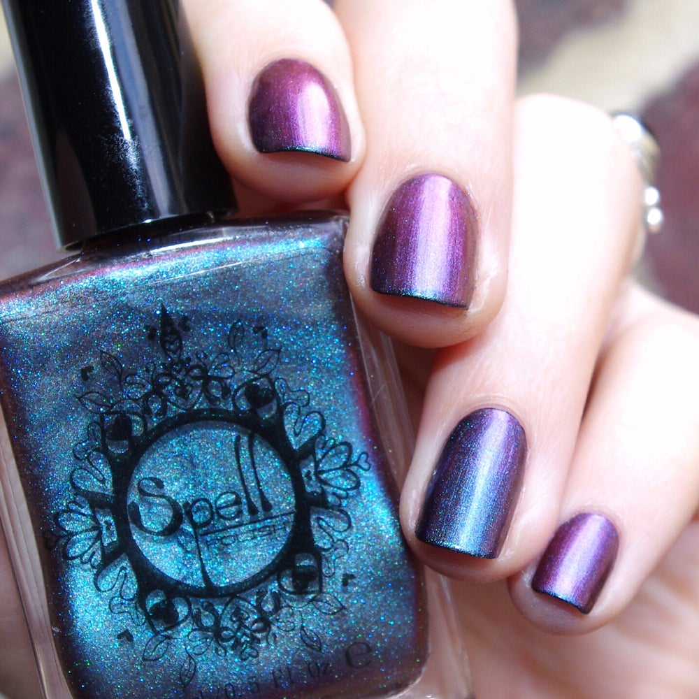 Image of Magichromes™ SPELL POLISH ~To the Moon and Back~ color shifting nail polish