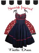 """Paloma"" Spanish inspired dress"