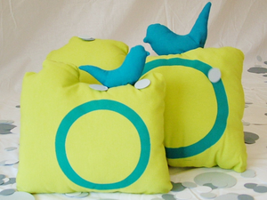 Image of Two-piece set - Mintha Cameras Cushions 01