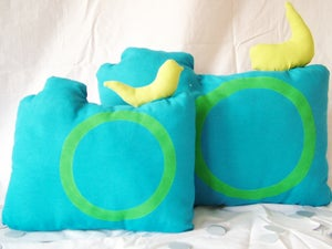 Image of Two-piece set - Mintha Cameras Cushions 03