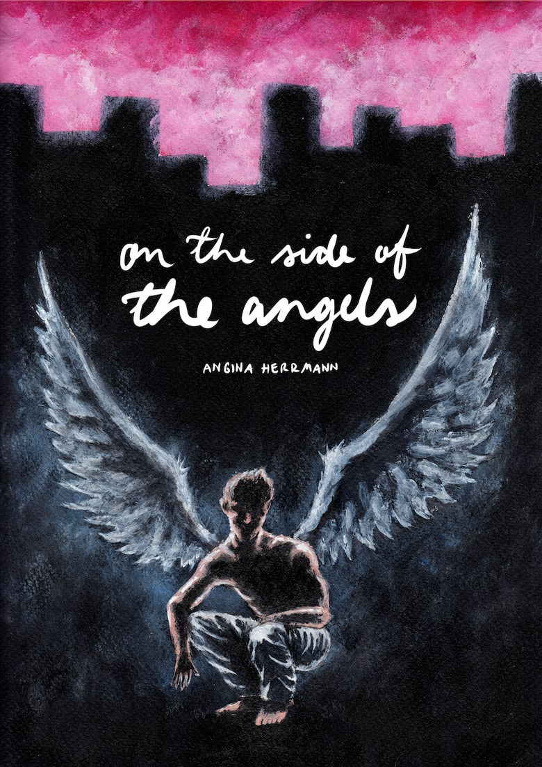 Image of Graphic Novel - On the Side of the Angels
