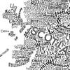 Scotland Type Map (White)