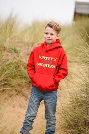 Image of Children's Hoody - Red