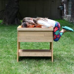 Image of Kitchen Sandbox™ Indoor Sand and Water Table - Ash Hardwood