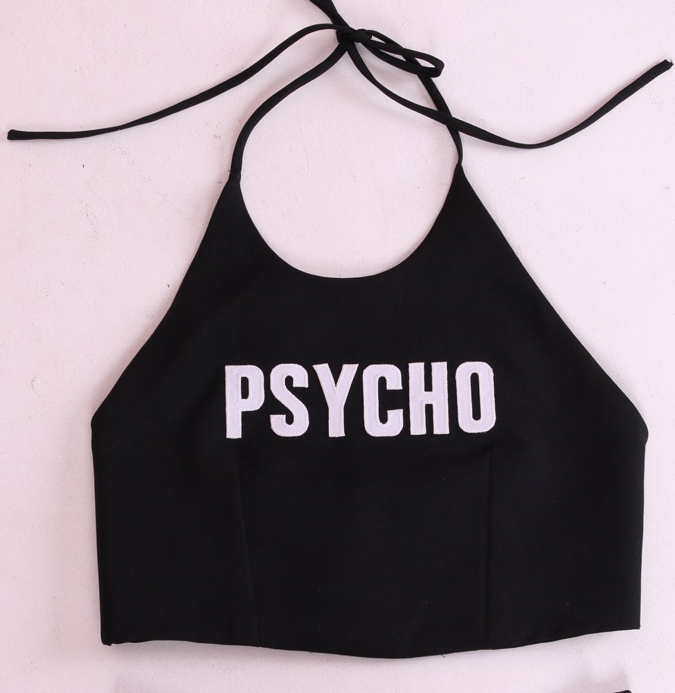 Image of Ready To Post - Psycho Halter Top