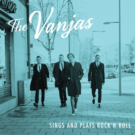 Image of CD - The Vanjas Sings and Plays Rock 'n' Roll