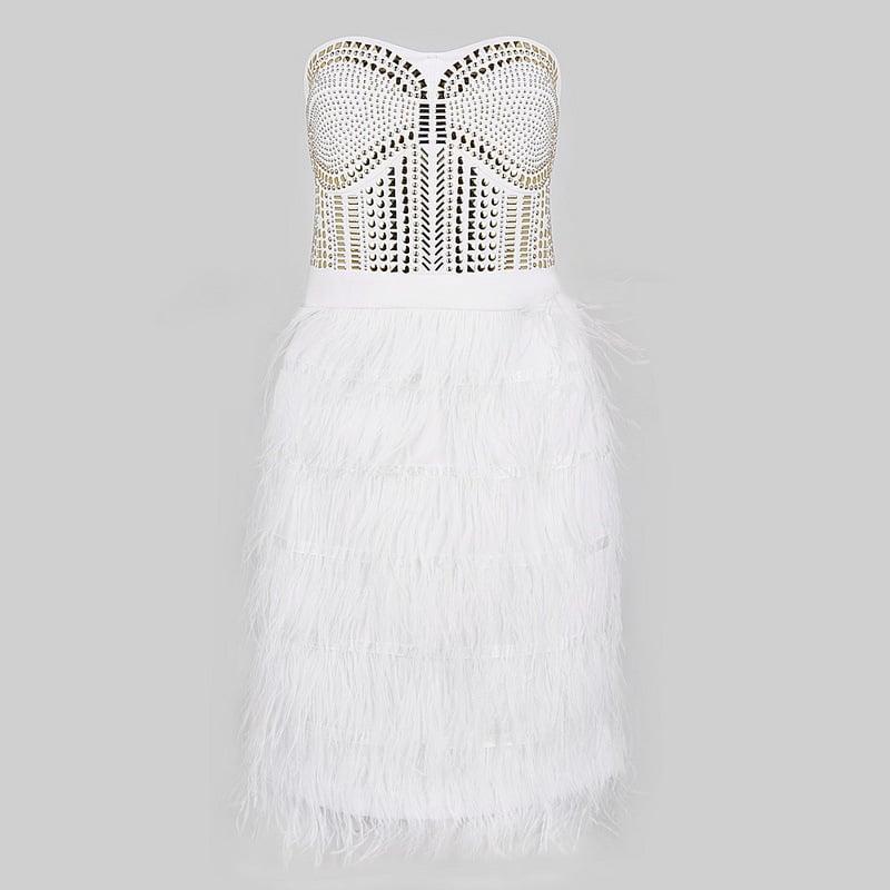 Image of HOT RIVET SO CUTE DRESS