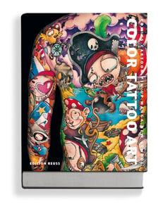 Image of Color Tattoo Art: Cartoon. Comics. Pin-Up. Manga. New School.