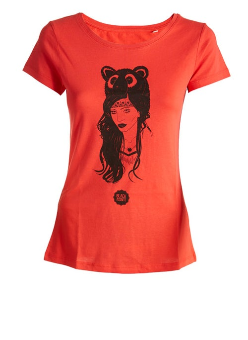 Image of The Bear - Tee-shirt col rond femme