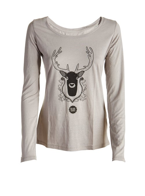 Image of Bambi - Tee-shirt col rond femme